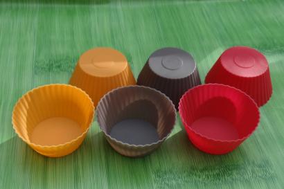 Silikonová forma muffiny sada 6 ks