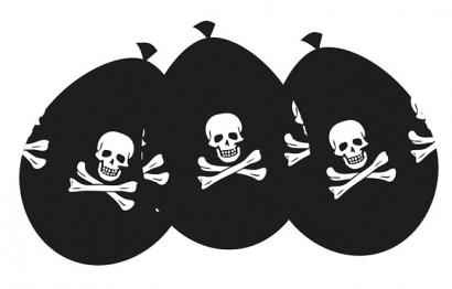 Balonky pirátské  6 ks