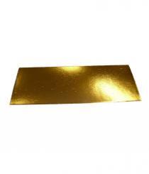 Podložka dortová zlatá 40 x 30 cm