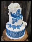 Krajka sweet lace modrá  200 g