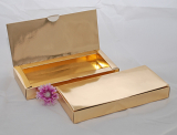 Krabička bonboniérová zlatá
