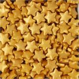 Cukrové hvězdičky zlaté  30 g
