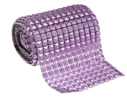Dekorační pásek lila  10,5 cm