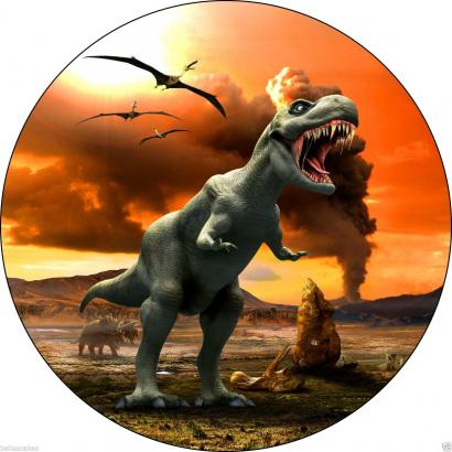 Jedlý papír dinosaurus