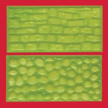 Otiskovací podložky 2 ks  kameny