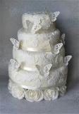 Jedlá krajka smart lace bílá perleť 160 g