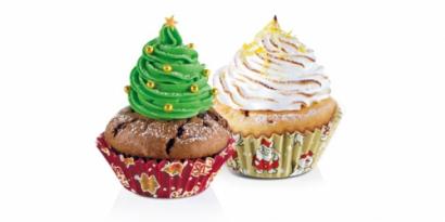 Cukrářské košíčky  60 ks  vánoční  ii