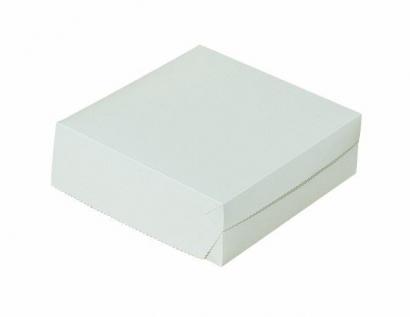 Dortová krabice bílá střední