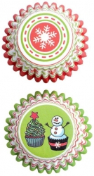 Cukrářské košíčky mini vánoce