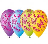 Balonky motýl  5 ks