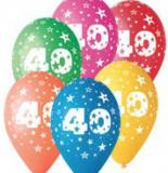 Balonek  30 cm číslo  40