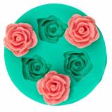 Silikonová forma mini růžičky