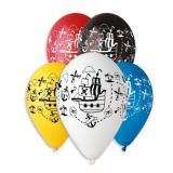 Balonek pirátská loď  1 ks