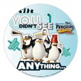 Jedlý papír tučňáci madagaskar 4