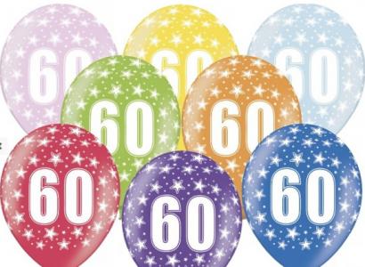 Balonek  33 cm číslo  60